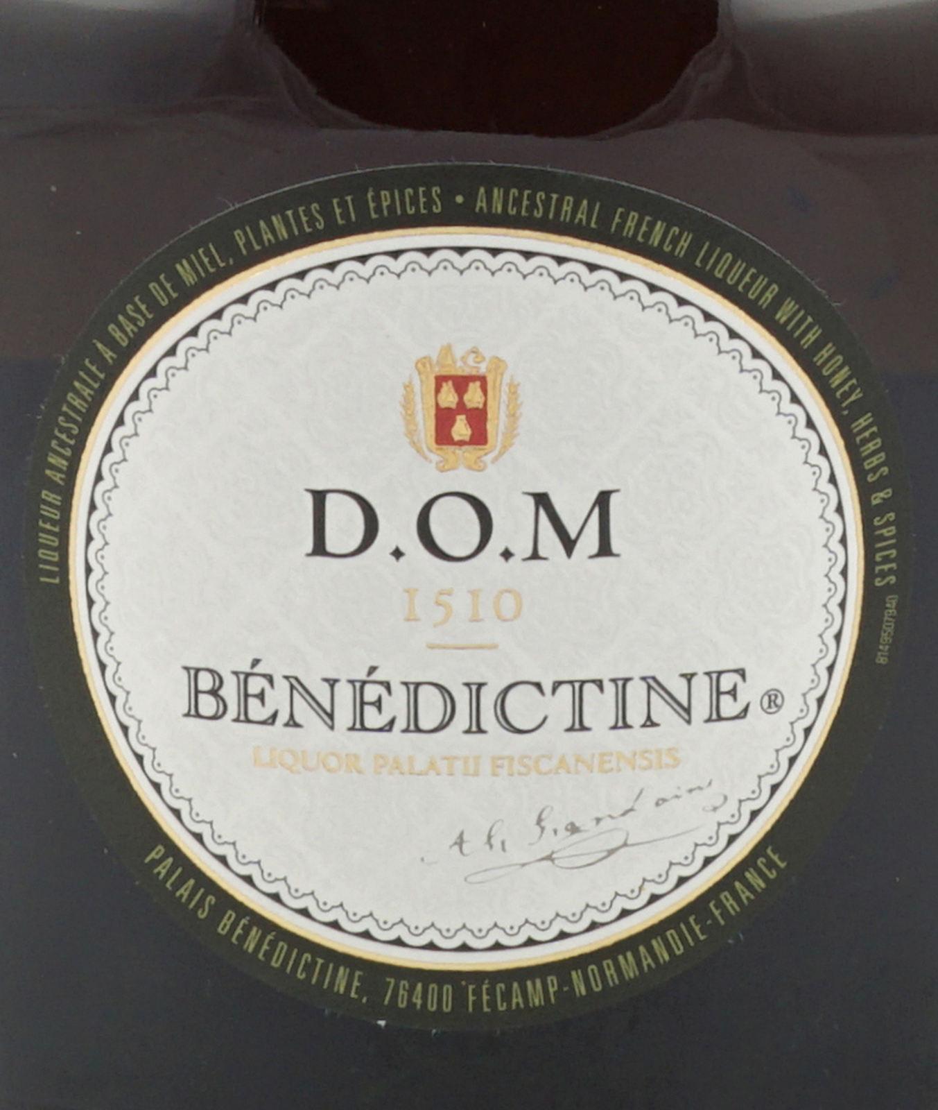 Benedictine D O M Likor 0 7 Liter 40 Vol Eur 17 00 Barfish