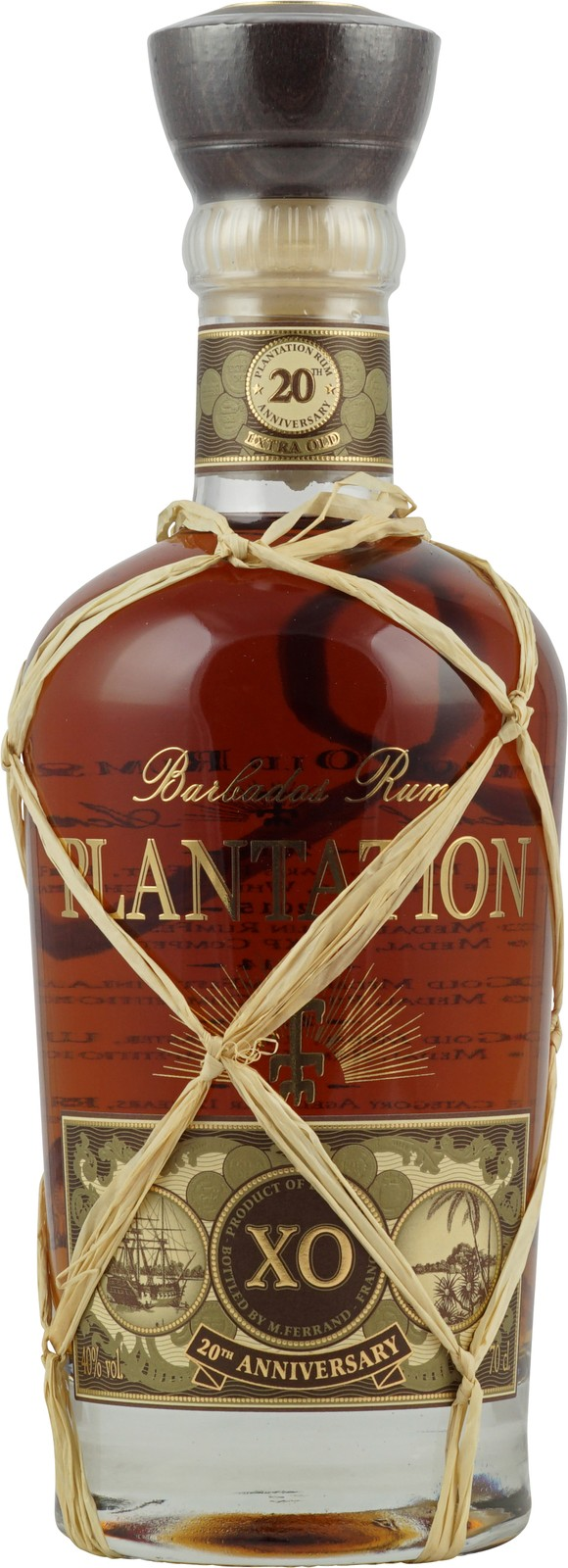 Plantation Barbados Extra Old 20th Anniversary Rum (12 ...